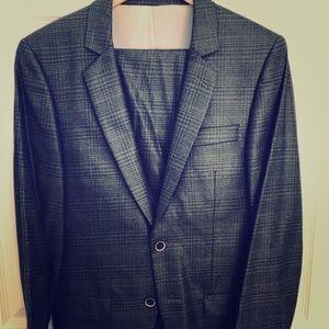 Dk Grey TOPMAN skinny suit